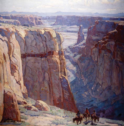 Edgar Payne Canyon De Chelly Blue Canyon