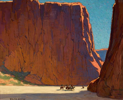 Edgar Payne Canyon De Chelly 1916