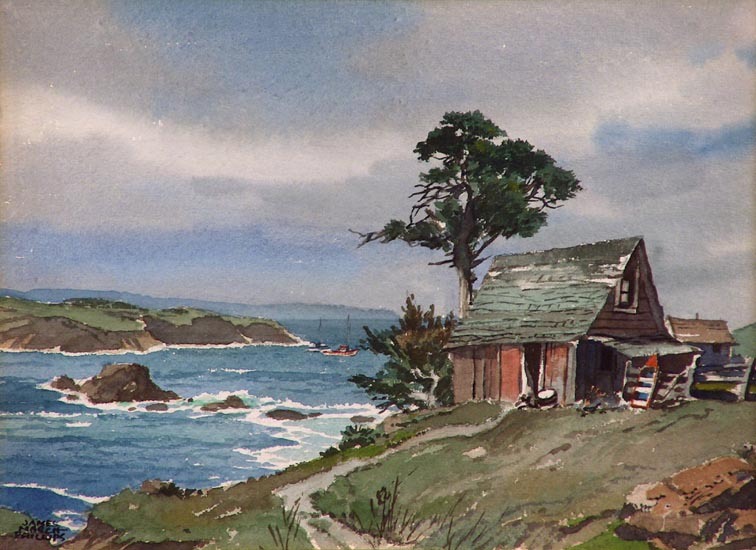 James March Phillips Along the Coast Mendocino