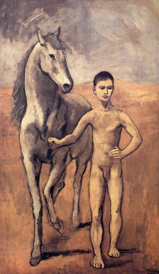 Pablo Picasso Boy Leading a Horse