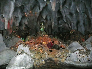 Pirates of the Caribbean Cavern Ceiling