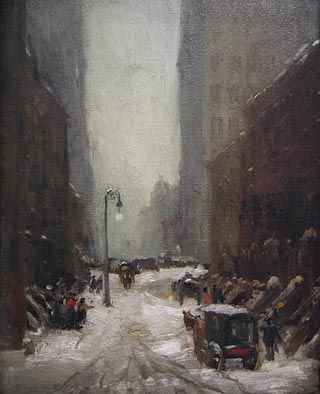 Robert Henri Snow in New York