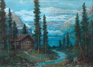 Andreas Roth Lake Louise Cabin Thumbnail
