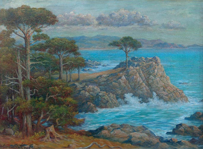 Andreas Roth Cypress Point 17 mile drive Carmel California Coast