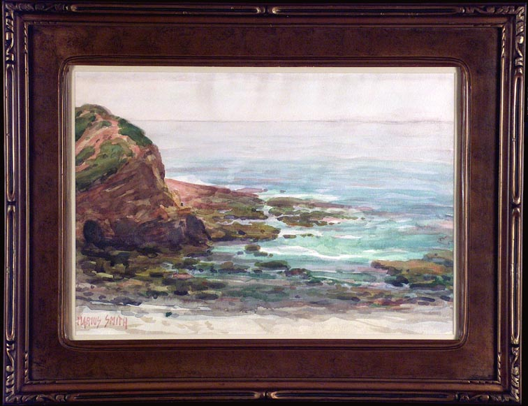 Marius Sschmidt (Smith) Coast View with Frame
