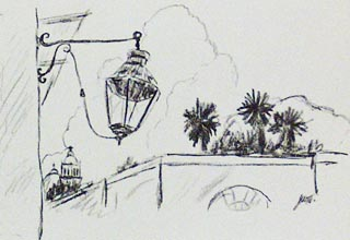 From John W Hilton's Sonora Sketchbook