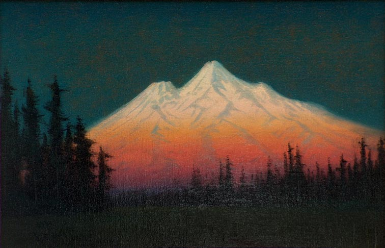 James Everett Stuart Mount Shasta 1921