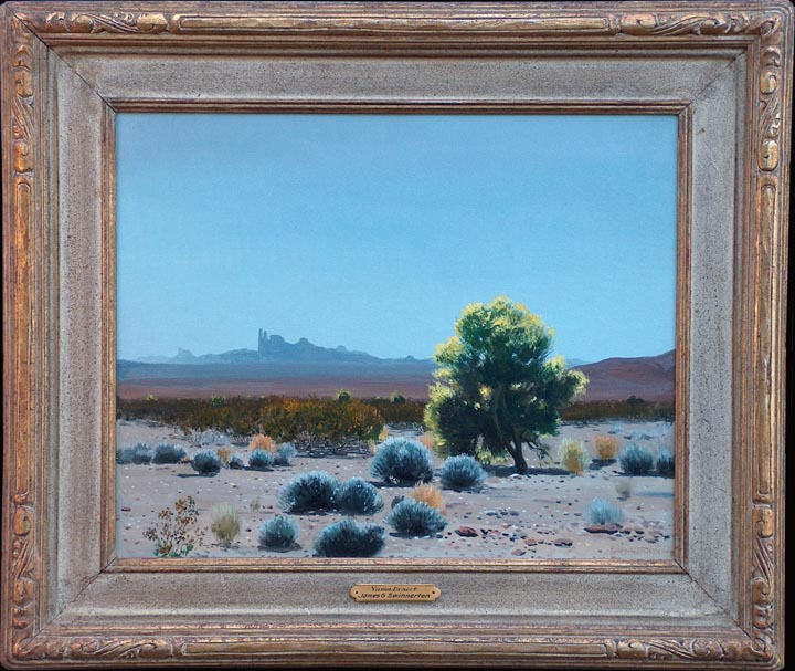 James Guiilford Swinnerton Yuma Desert with Frame