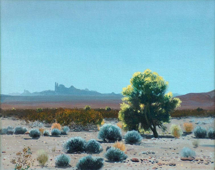 James Swinnerton Yuma Desert
