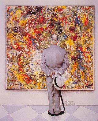 Norman Rockwell The Connoisseur
