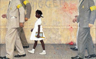 Norman Rockwell The Problem We All Live With