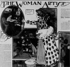The Woman Artist SF CAll 1903