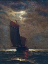 James Gale Tyler Sailboat Nocturne