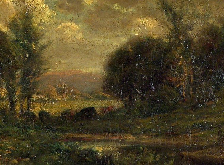 Manuel Valencia Atmospheric Landscape Closeup