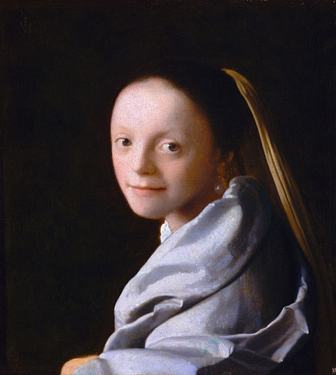 Johannes Vermeer Portrait of a Young Girl