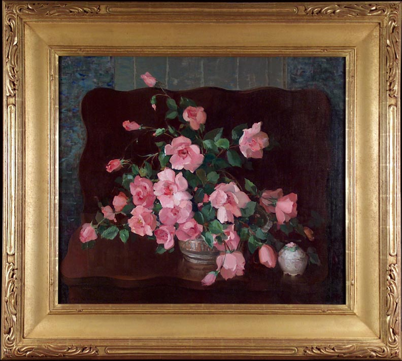 Nell Walker Warner Lulu Roses With Frame