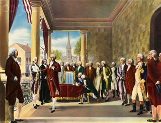 Washington at the First Inaugural