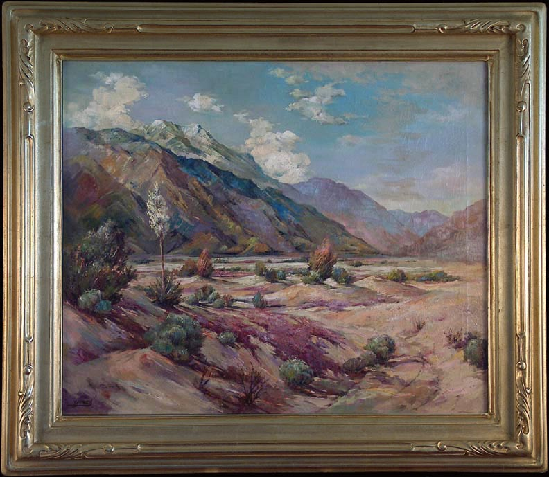 Frances Upson Young Edge of the Desert with Frame
