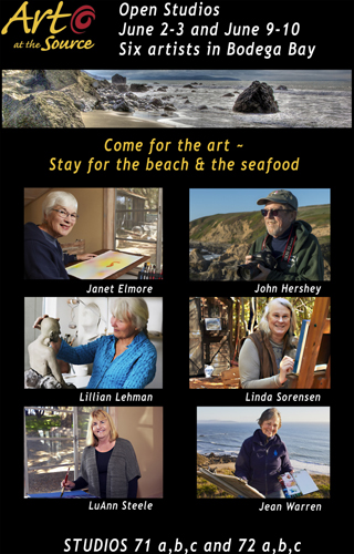 Art at the Source Bodega Bay Artists