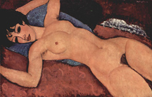 Amedeo Modigliani Nu Couche