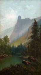 William Weaver Armstrong Sentinel Rock Yosemite Midsized Thumbnail