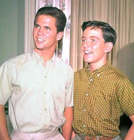 Tony Dow and Jerry Mathers