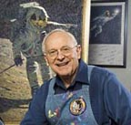 Alan Bean in Studio