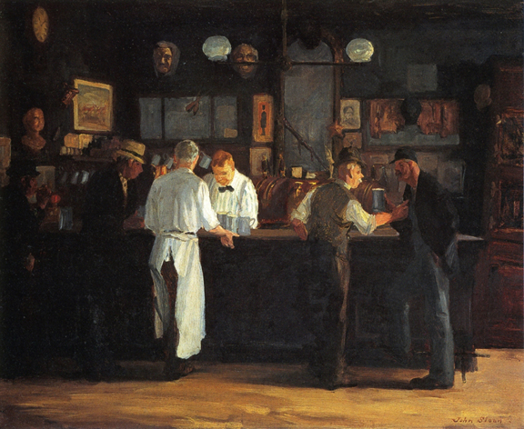 McSorleys Bar John French Smith