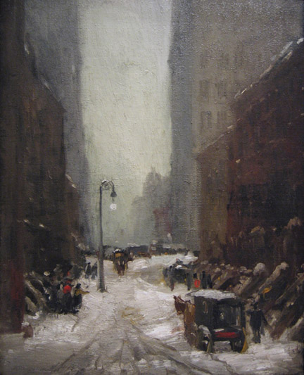 Snow in New York Robert Henri