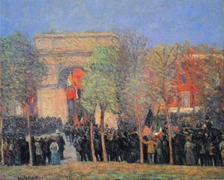 Italo American Celebration Washington Square 1912