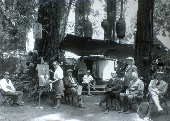 Bohemian Encampment Photo courtesy of Christopher Queen Galleries Duncans Mills