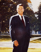 CA Governor Ronald Reagan