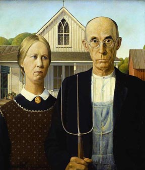 Grant Woods Iconic American Gothic