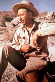 John W. Hilton at Calcite Mine during WWII
