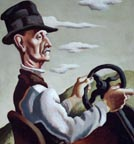 Thomas Hart Benton The Yankee Driver Thumbnail