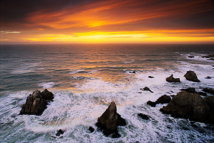 Jerry Dodrill Bodega Head Sunset