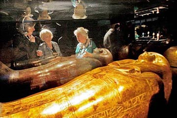 Sarcophagi from King Tut's Tomb
