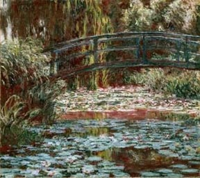 Claude Monet Water Lilly Pool