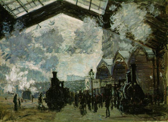 Claude Monet The San Lazare Station