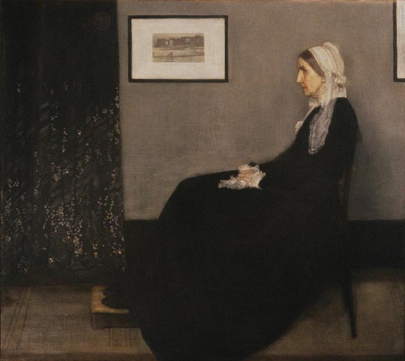 James Abbott McNeill Whistler Portrait of an Artist's Mother