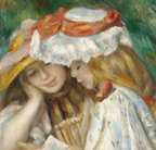 Auguste Renoir Two Girls Reading Thumbnail