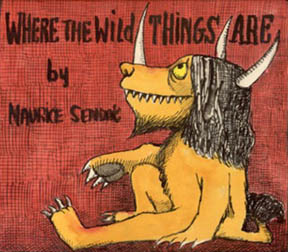Preliminary cover Where the Wild Things Are