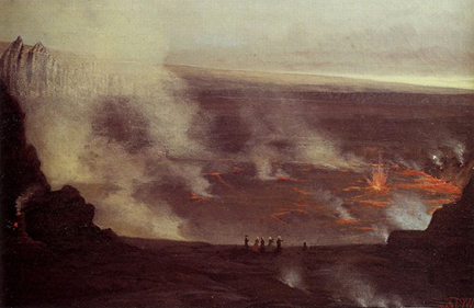 William Pinkney Tolar Kilauea Volcano