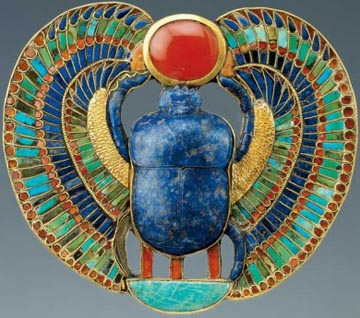 King Tut inlaid Pectoral