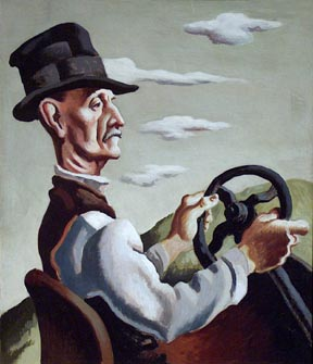Thomas Hart Benton The Yankee Driver The Huntington Library