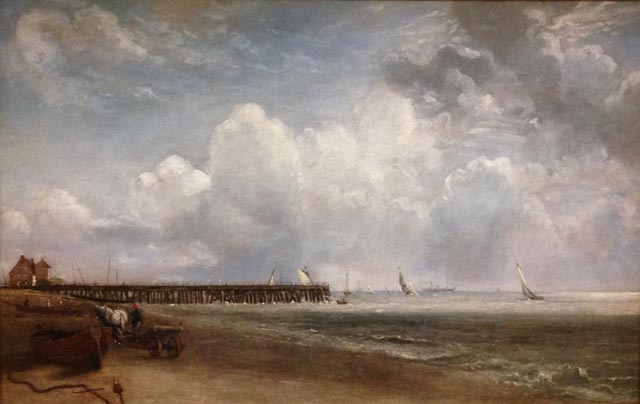 John Constable Yarbouth Jetty, 1832