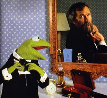 Kermit and Jim Henson Mirror Portrait