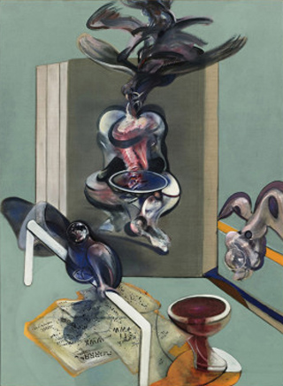 Francis Bacon Triptych 1976 Center