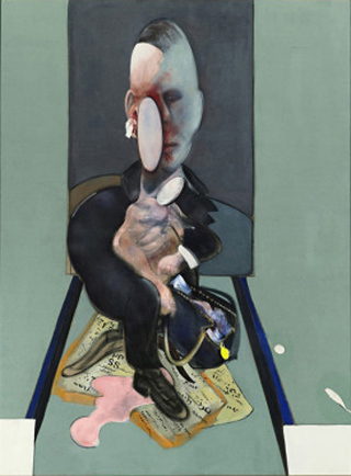 Francis Bacon Triptych 1976 Left