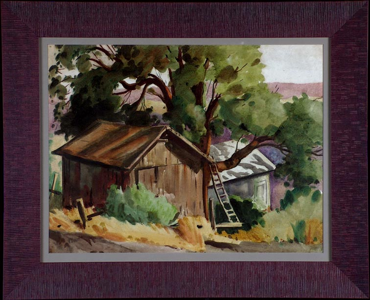 Ralph Baker Shed Ladder and Tree with Frame